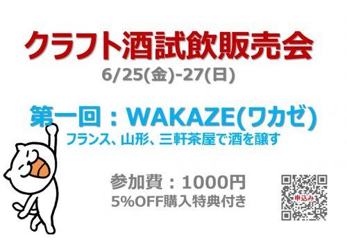 クラフト酒試飲販売会(6/25-27) @ VINSY
